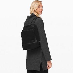 Lululemon City Adventurer Sherpa backpack bag
